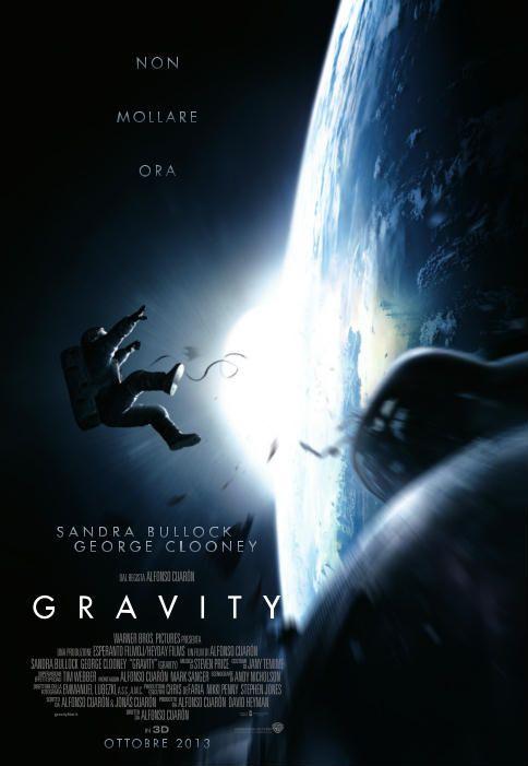 #Gravity, dal 3 ottobre al cinema.