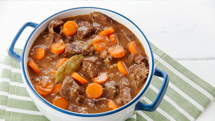 This hearty, gorgeously tender beef casserole recipe is packed with lovely chunky veg and packed full of flavour.