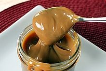 Dulce de Leche: a sister to caramel, made with whole milk, sugar, and vanilla !