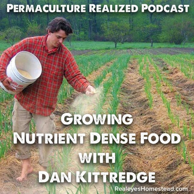 Today's guest, Dan Kittrege has been an organic farmer since childhood, and has been growing nutrient dense food at his research farm, Kittredge Farm in MA.