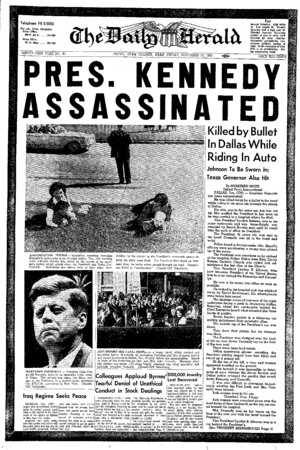 Kennedy Assassination. I was in grade 6 and this was the first historical, life and world changing news that I remember.