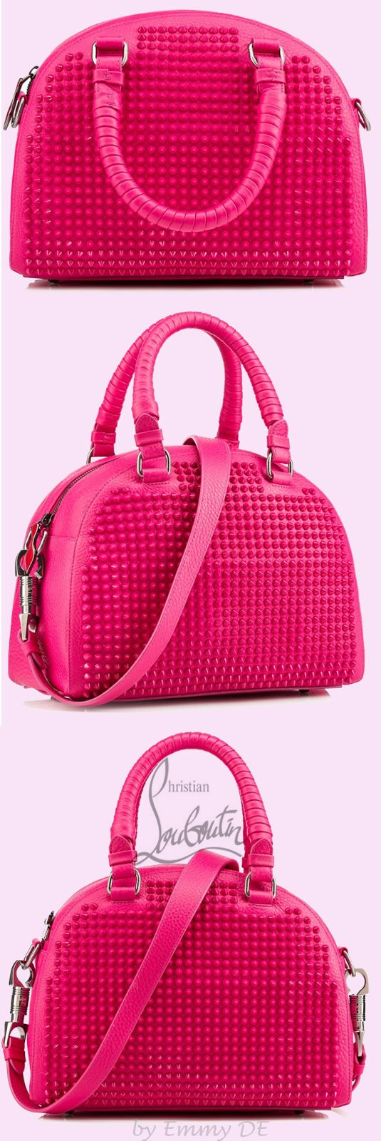 Christian Louboutin ~  'Panettone' Spring Leather Handbag 2015