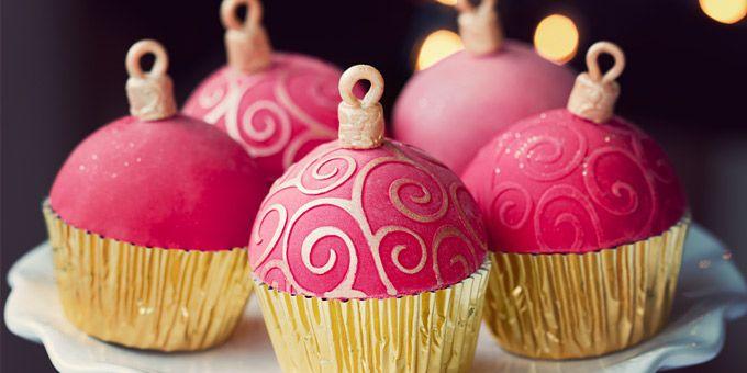 5 συνταγές για υπέροχα χριστουγεννιάτικα cupcakes