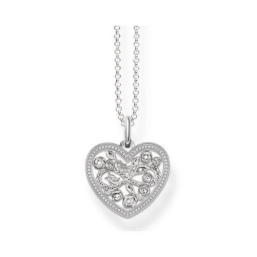 Halsband, Hjärta ornament #ThomasSabo