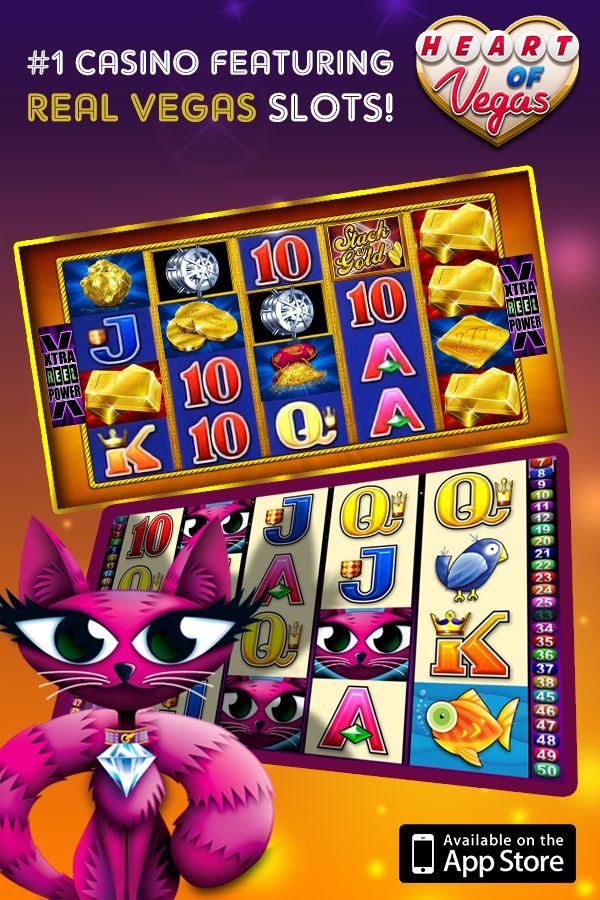 Real Vegas Slots For Real Slots Players! Jump in and spin one of our most popular games! Over 5 million downloads worldwide!