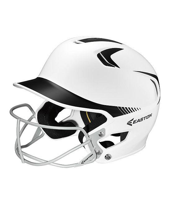 Black & White Fastpitch Helmet
