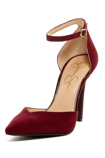 Every woman needs some red heels.  I got these at Macy's .  Jessica Simpson.  They were 50% off.  And oh so comfy actually.