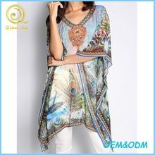 Latest fashionable design sheer abstract print women best seller follow this link http://shopingayo.space