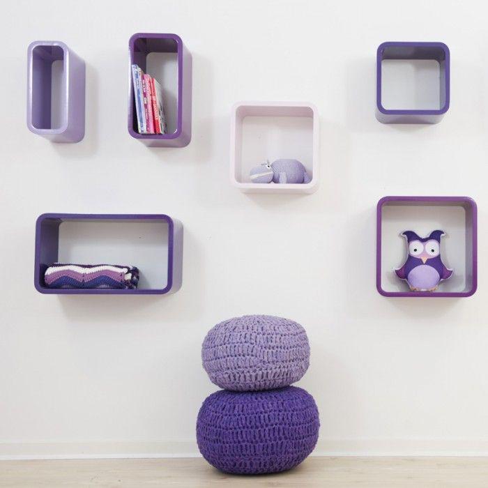 Purple kids room