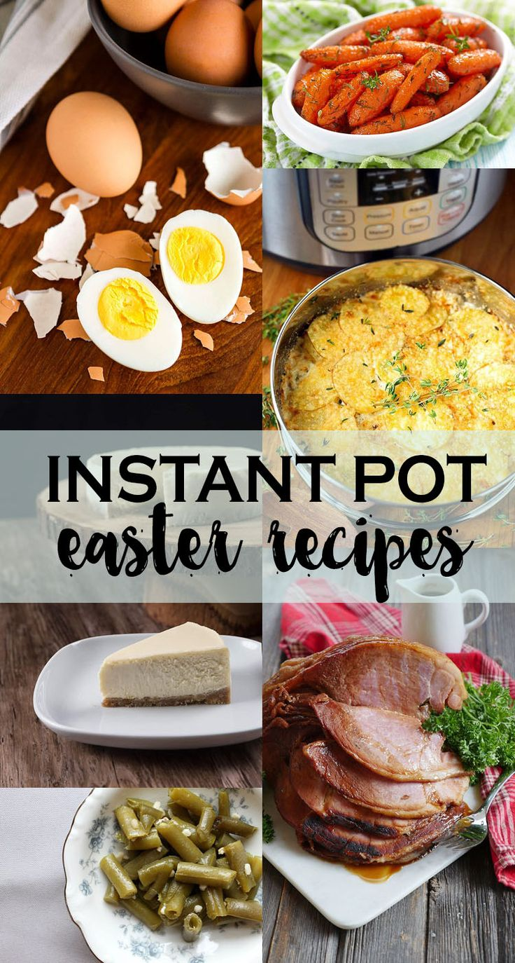 These instant pot easter recipes are perfect for the upcoming easter holiday! Excited to make the honey glazed ham in the instant pot!