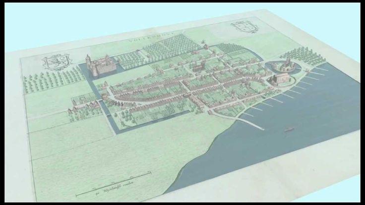 Vollenhove 3D historische kaart (2010)