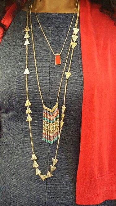 Love this combo with Premier Designs Jewelry. See Digital catalog at Maridemint.mypremierdesigns.com #pdlife #pdstyle