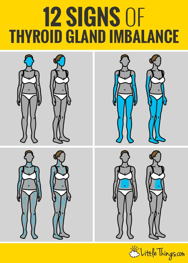 Learn how to spot some of the early warning signs of thyroid issues.