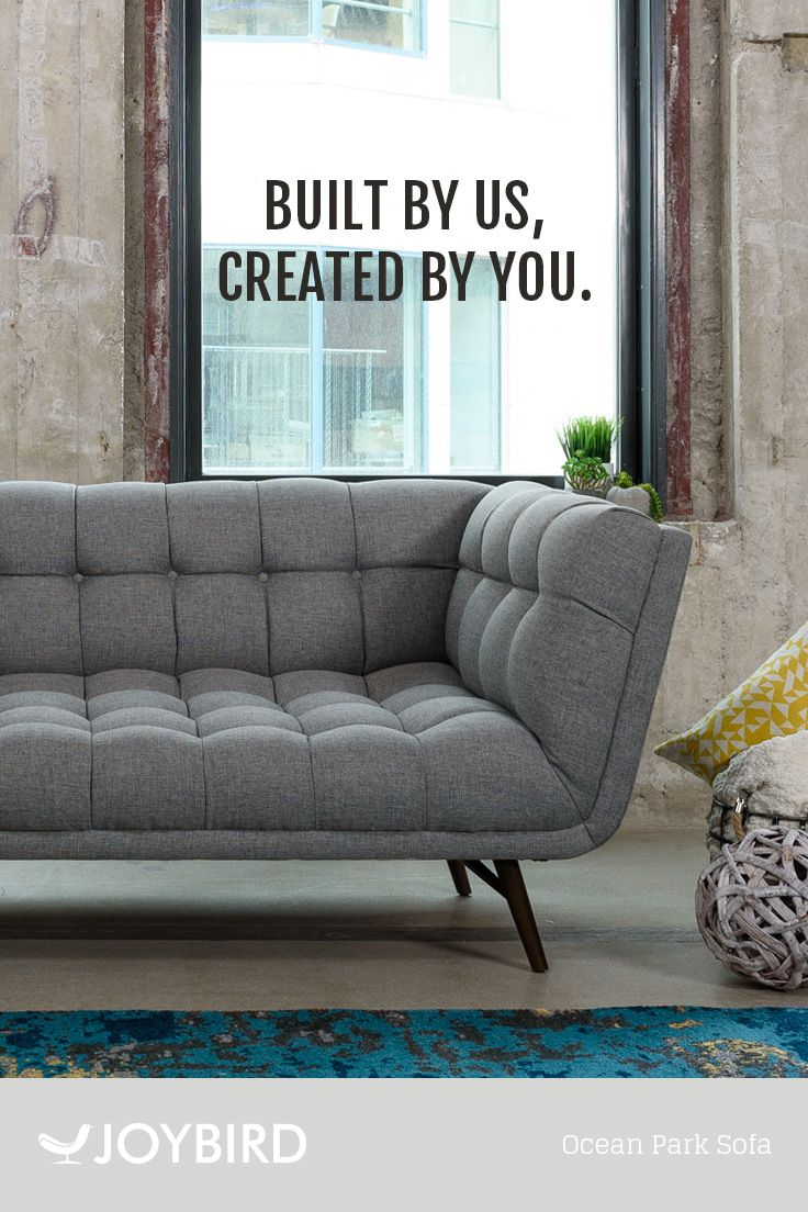 Joybird likes to do things a little differently. They believe that furniture should be custom made to fit you and your home. Save up to 25% OFF your entire order right now during our Buy More Save More Sale! All Joybird furniture comes with FREE in-home delivery & lifetime warranty!