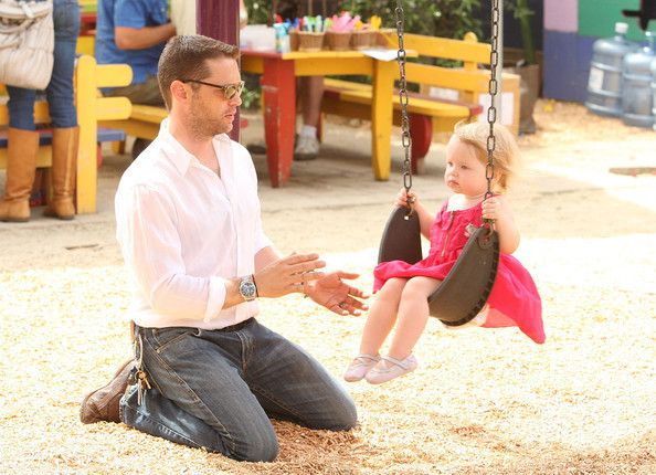 So cute of he and his daughter