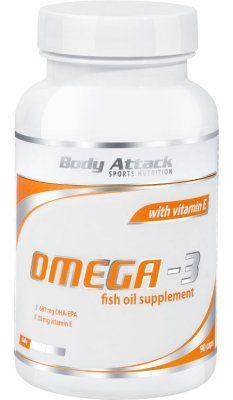 Body Attack Omega 3 Kapseln, 90 St