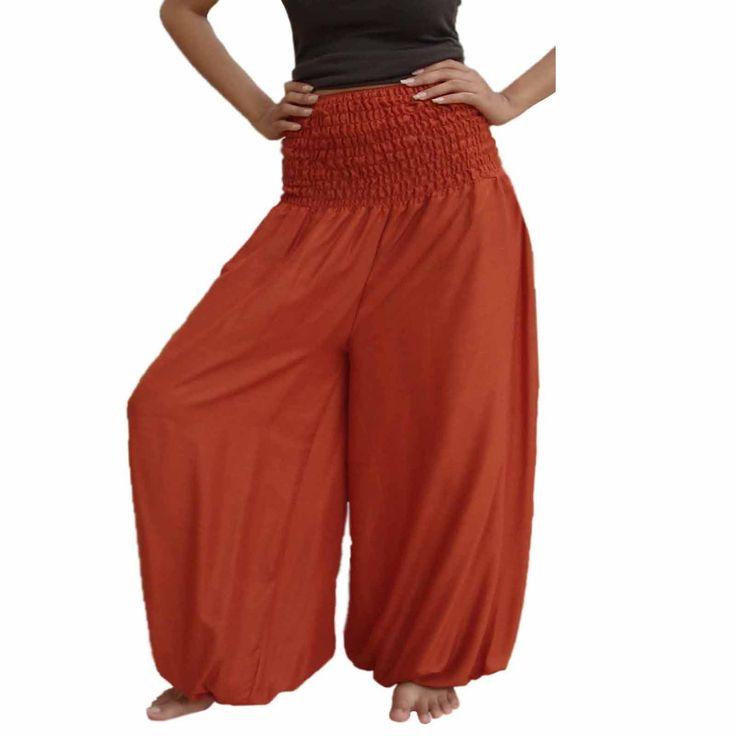 Plus size baggy harem pants