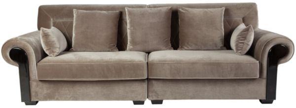 Размер (Ш*В*Г): 260*88*100 Коллекция диванов Naples создана, чтобы удовлетворить любой вкус. Если Вам по душе красочный, слегка гламурный эклектичный интерьер, выберите лиловую обивку, а благородный серый или шоколадно-коричневый цвета станут отличным решением среди ярких деталей Вашего интерьера. Простроченная по диагонали внутренняя сторона спинки – явный реверанс дизайнеров в сторону непревзойденной Коко Шанель – создает отдельный шарм. Если это в Вашем стиле, просто определитесь с…