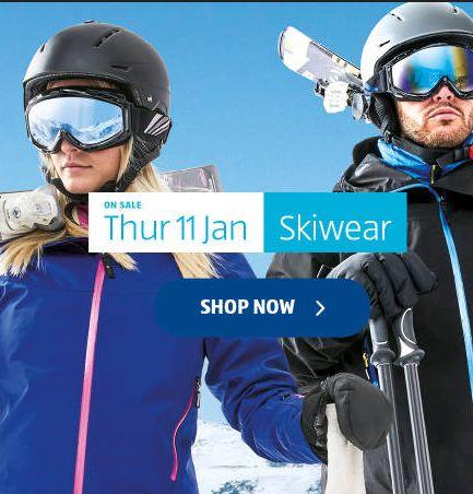 Aldi Special Buys Thursday 11th January 2018. Skiwear - http://www.olcatalogue.co.uk/aldi/aldi-special-buys.html