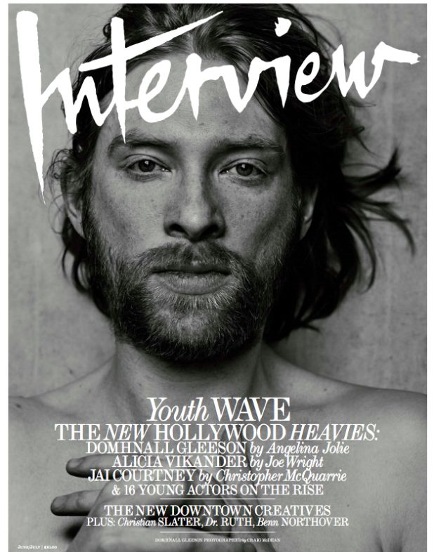 Domhnal Gleeson - Interview Magazine's 'Youth Wave'