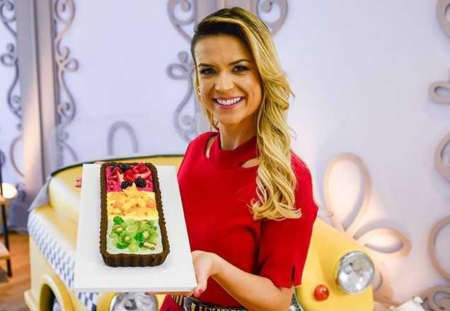 Receita Do Junior Bake Off Brasil 22 02 2020 Torta Semaforo De Frutas Em 2020 Com Imagens Frutas Torta