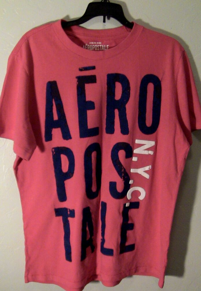 Aeropostale Men S T Shirt Logo Graphic Tee Shirt Printed T Aero 87