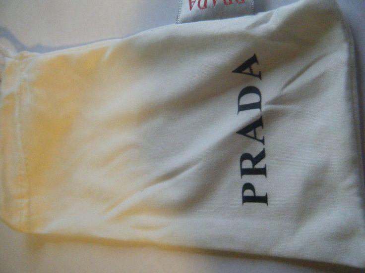 prada white cloth bag