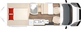 Floor plans - City-Car - Panel van - Motorhomes-Bürstner