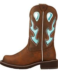 Ariat Fatbaby Heritage Tall Cowgirl Boots - Round Toe  - Sheplers