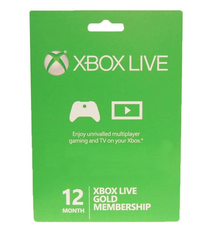 #Xbox360 / XBOX ONE LIVE 12 Month Gold Membership Card Subscription NEW!  Only $41.99 + FREE shipping!