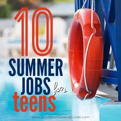 Teen summer job suggestions Road