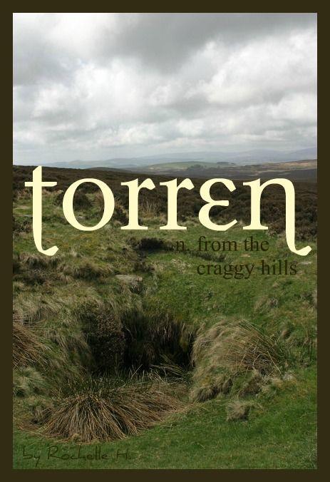 Baby Boy Name: Torren. Meaning: From the Craggy Hills. Origin: Scottish; Irish; Gaelic.