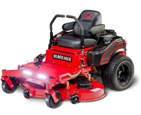 BigDog® Blackjack top residential ZTR zero turn mower with a flip deck offers smoothest steering and commercial grade decks backed by industry leading 7 year limited warranty.