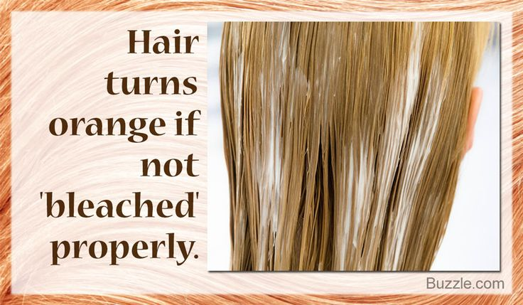 7 ways to fix bleached hair that turned orange bleached