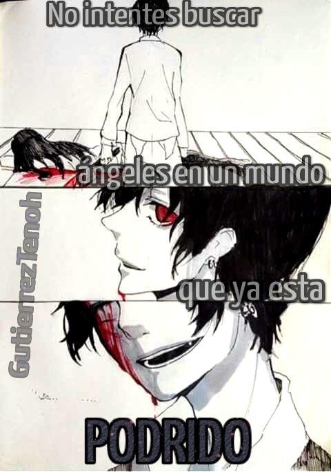 #GutierrezTenoh #Anime #Frases