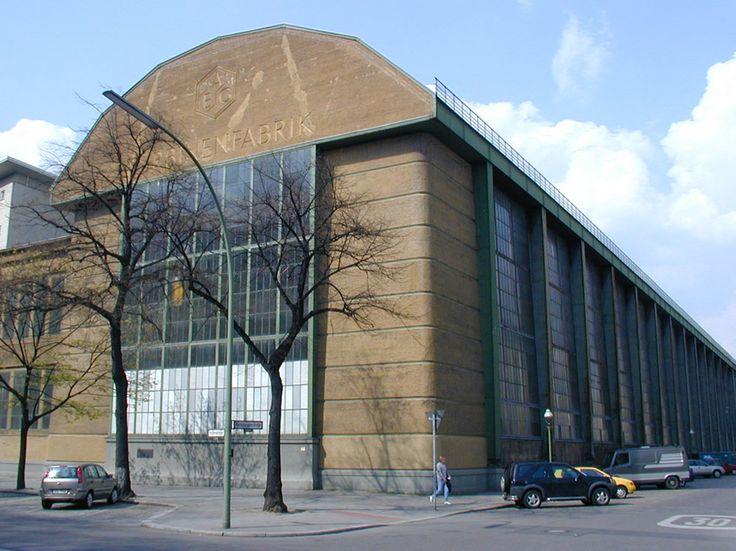 Peter Behrens – Hala turbin AEG w Berlinie