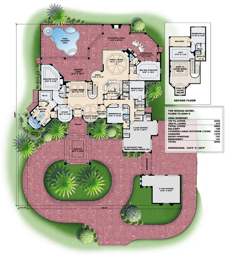 Courtyard Houseplan 10 Mediterranean House Plans Mediterranean House Plans With Courtyards