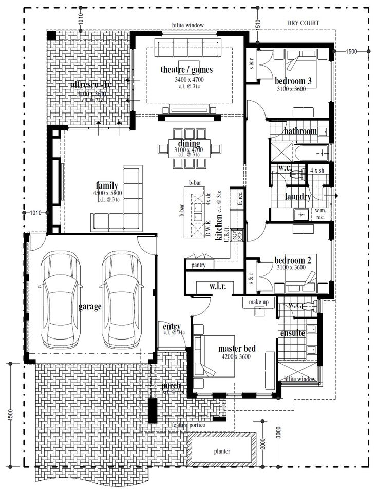 Best Floor Plans Images On   Floor Plans House