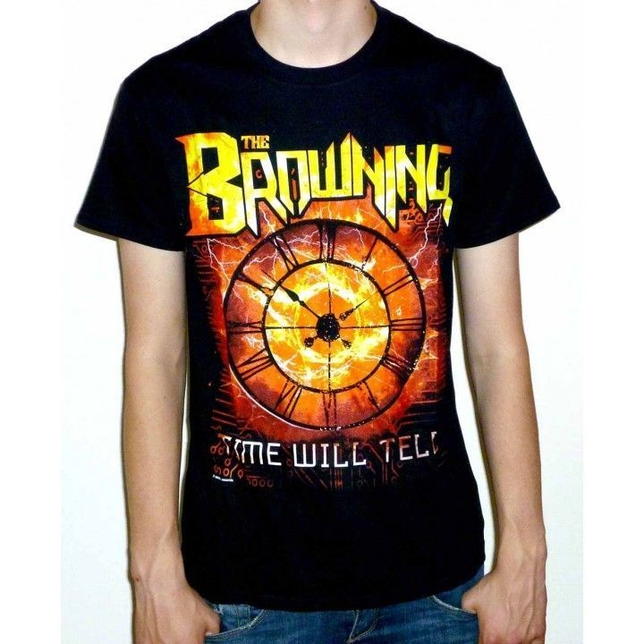 The Browning  Time Will Tell  T-shirt - NEW burn this world standing on the edge
