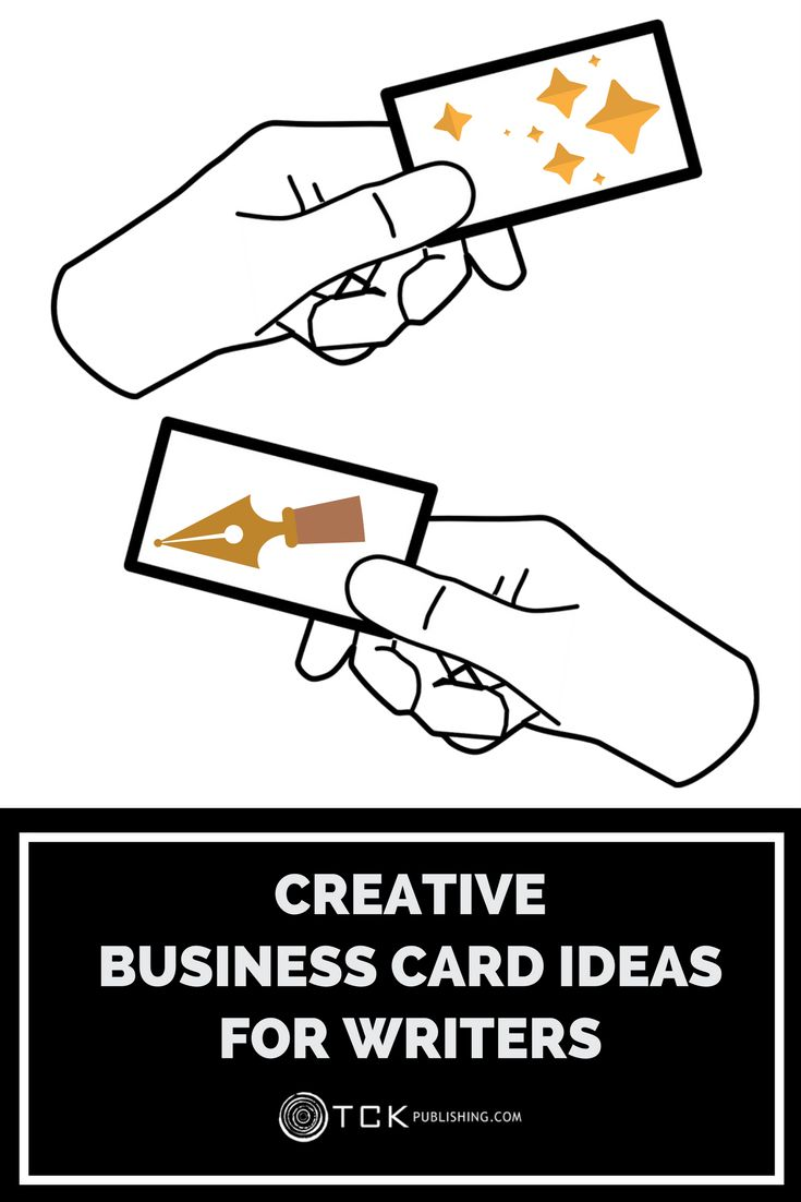 Creative business card ideas for writers business cards creative business card ideas for writers business cards marketing books and screenwriter magicingreecefo Choice Image