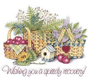 Wishing you a speedy recovery.