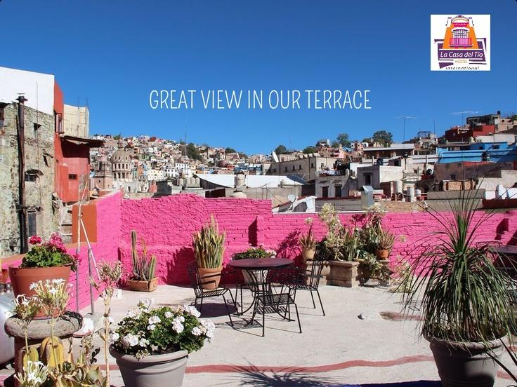 Hostal con La mejor vista y ubicacion en Guanajuato!