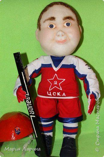 Куклы День рождения Папье-маше Шитьё трус не играет в хоккей   Капрон фото 6