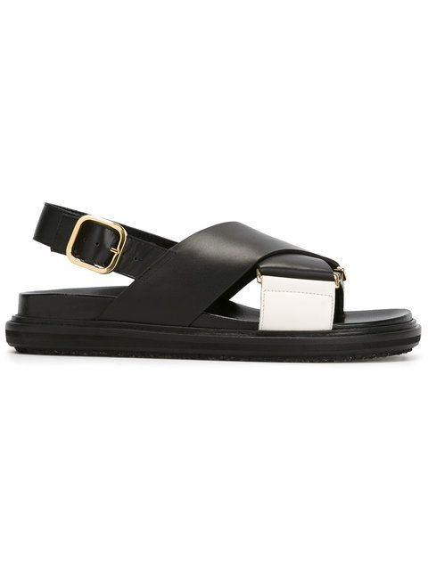 MARNI Criss-Cross Fussbet Sandals. #marni #shoes #sandals