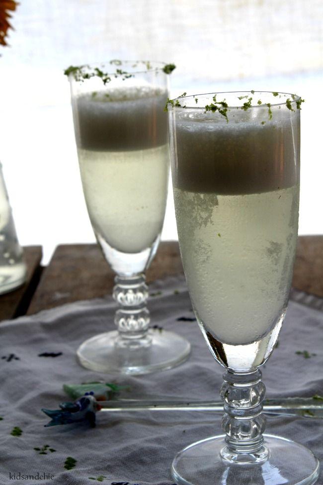Sorbete de vino verdejo al limón | Kidsandchic