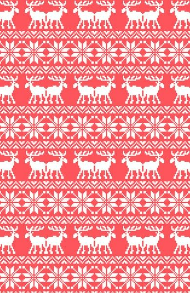 CUte christmas pattern red wallpaper - 80.4KB
