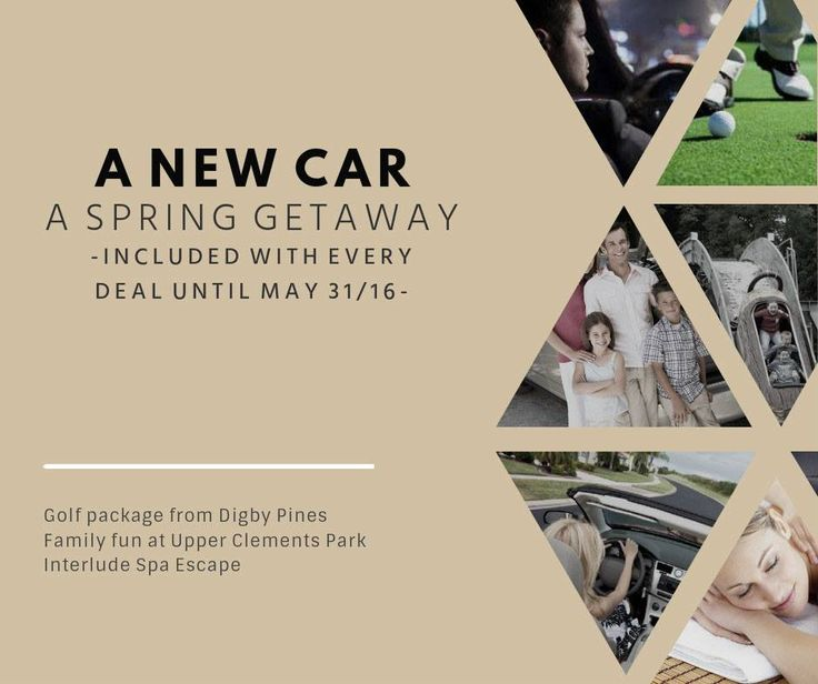 Enjoy spring. With every Halifax Auto Zone purchase or Auto One Halifax lease between April 1- May 31/16 treat yourself with either a day at Interlude Spa, a family weekend at Upper Clements Park and Adventure Park, or a fabulous golf getaway at Digby Pines. It truly is...always better in THE ZONE!