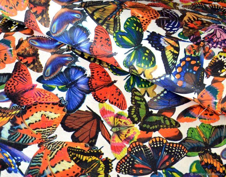 Натуральная кожа КРС - Яркие бабочки 1,1 мм - Калейдоскоп кожи (Светлана) - Ярмарка Мастеров http://www.livemaster.ru/item/22349265-materialy-dlya-tvorchestva-naturalnaya-kozha-krs-yarkie-baboc