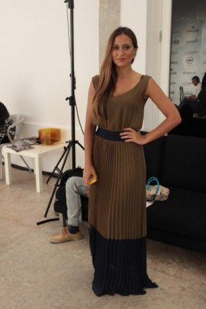 Qual a peça mais cool para usar na cidade de Lisboa?Vestidos largos Por Rita de La Rochezoire, Apresentadora.