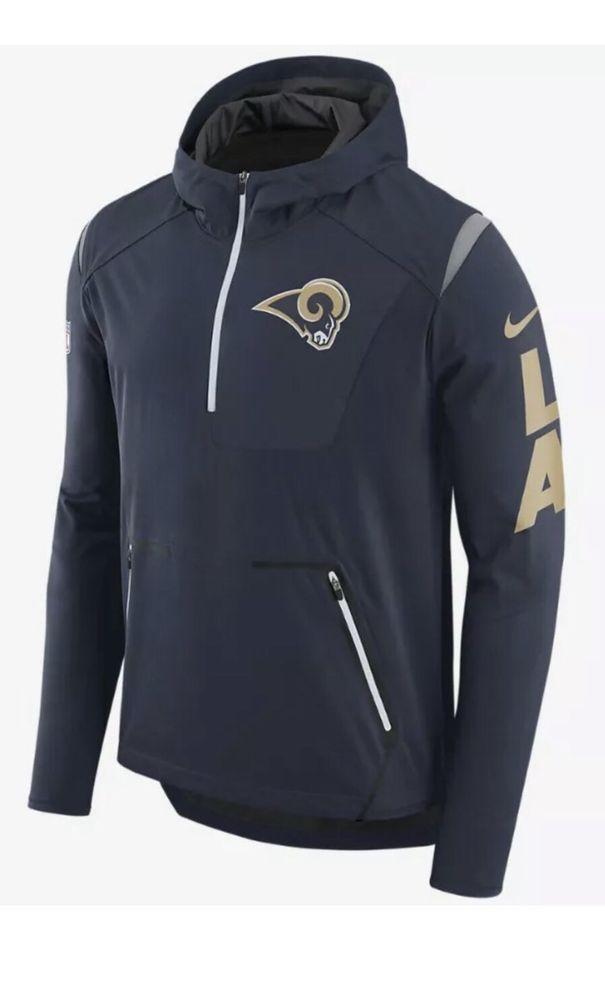 f6724ab23 NIKE NFL MENS ALPHA FLY LOS ANGELES LA RAMS JACKET Sz XL 836992 419  180   Nike  RunningJacket